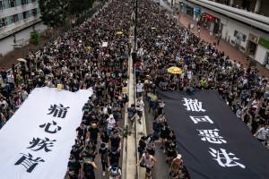 香港反送中抗議